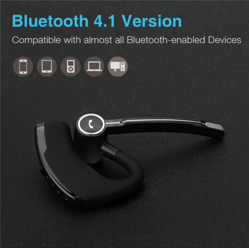 Bluetooth Wireless Earpiece Headsets for iPhone Andorid Cell