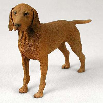 Vizsla Hand Painted Collectible Dog Figurine Statue