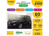 LAND ROVER R/R EVOQUE 2.0 TD4 SE TECH HSE DYNAMIC 4WD LUX 2WDFROM £103 PER WEEK!