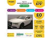 Audi A5 Black Edition PLUS FROM £109 PER WEEK!