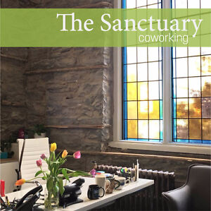 The Sanctuary Coworking Space - A Collaborative Shared Workspace