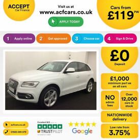 Audi Q5 S Line Plus FROM £119 PER WEEK!