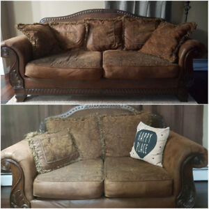 Sofa and love seat for sale!