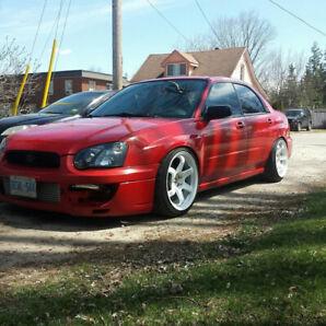 05 Subaru Impreza rs swapped rwd