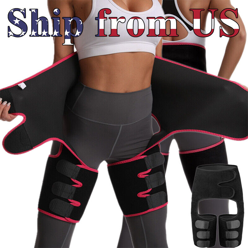 High Waist Thigh Body Shaper Trimmers Trainer Butt Lifter Slimming Burn Belt US Clothing, Shoes & Accessories