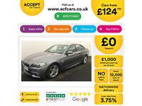 Grey BMW 535d M Sport 313bhp Diesel Auto 2015 FROM £124 PER WEEK!