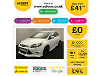 Ford Focus Zetec S FROM £41 PER WEEK!
