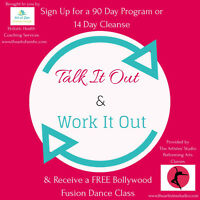 Shape up for the Holidays. FREE Dance Class/Health Coaching