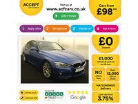BMW 330 M Sport FROM £98 PER WEEK!