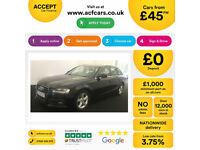Audi A4 FROM £46 PER WEEK!