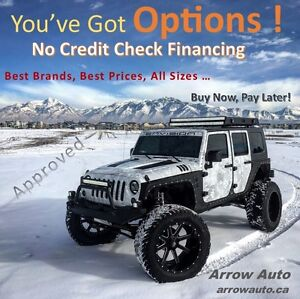 TIRES AND WHEELS FINANCING NO CREDIT CHECK!  BEST RATE!