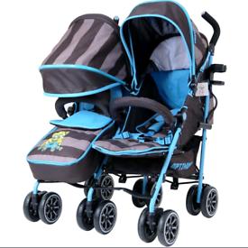 Twin buggy/pushchair