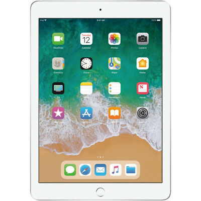 Apple iPad 6th Generation 32GB Wi-Fi 9.7in Silver MR7G2LL/A