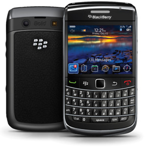 Unlocked BlackBerry Bold 9780, black color. Excellent condition