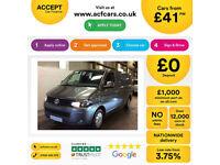 Volkswagen Transporter FROM £41 PER WEEK!