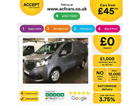 RENAULT TRAFIC SL27 DCI BUSINESS+ PanelVanENERGY DCI 120 FROM £45 PER WEEK!