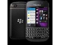 Blackberry Q10- Unlocked. 32GB