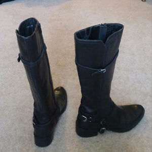 Geox Leather Boots (Woman Size 5)