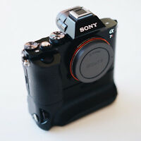 Sony A7R body with Vertical Grip