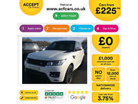 Land Rover Range Rover Sport FROM £225 PER WEEK!