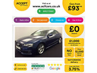 Blue AUDI A5 COUPE 1.8 2.0 TDI Diesel SPORT S LINE FROM £83 PER WEEK!