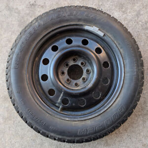 Set of 4 Winter Tires & Rims 195/60R15 - Used 1 Yr Only