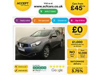 Nissan Qashqai FROM £45 PER WEEK!