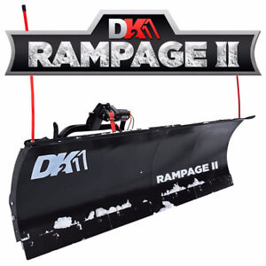"Rampage II 82"" Snow Plow"