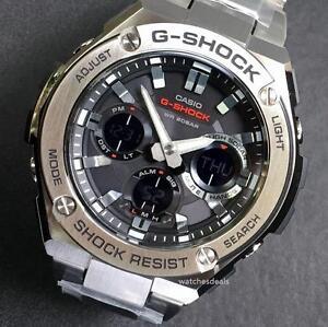 CASIO-G-SHOCK-G-STEEL-GSTS110D-1A-GST-S110D-1A-SOLAR-STEEL-BEZEL-BAND