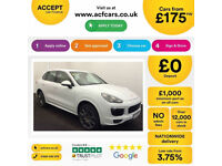 PORSCHE CAYENNE 3.0 V6 D 260 PLATINUM EDITION GTS TURBO FROM £175 PER WEEK!