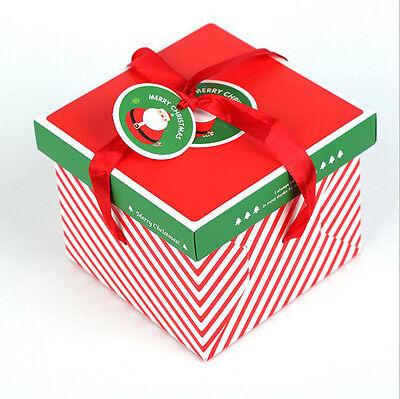 Xmas Christmas Gift Boxes Christmas Eve Apple Box Candy Boxes Party Boxes - Christmas Boxes
