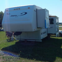 Beautiful Jayco Designer Series 5th Wheel Trailer