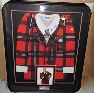 Don Cherry- Autographed Jersey (Framed)