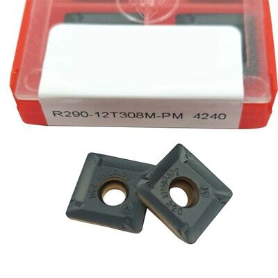R290-12t308m-pm 4240 Threading Carbide Inserts Cutting Tool For Lathe Cnc 10p