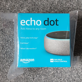 New Amazon Echo Dot 3rd generation