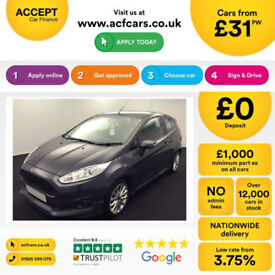 Ford Fiesta Zetec S FROM £31 PER WEEK!