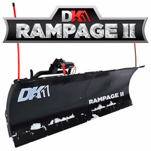 "Early Sale- DK2 82"" Rampage Snow plow kit- FREE mount FREE ship"
