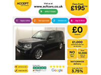 LAND ROVER DISCOVERY 4 TD V6 7 SEAT XS HSE LUXURY GSSE FROM £195 PER WEEK!