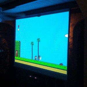 Games on the Big Screen!