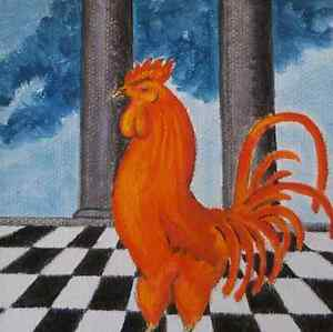 LE COQ ROUGE - THE RED ROOSTER