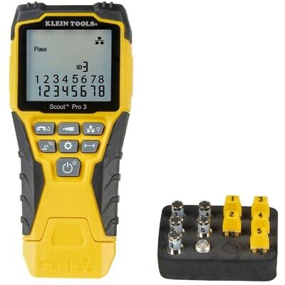 Klein Tool Scout Pro 3 Cable Voice Data And Video Tester Kit