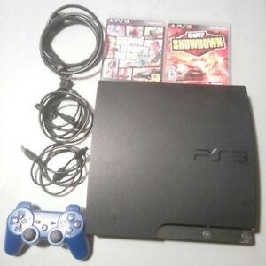 Playstation 3 (160 GB) + games