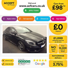 Mercedes-Benz CLA AMG Sport FROM £98 PER WEEK!