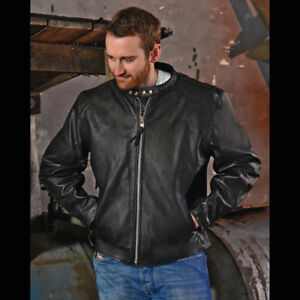 NEW with Tags on Interstate Leather Men's Motorcycle Jacket (Med