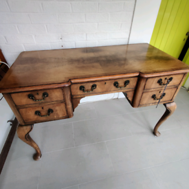 Queen Anne style desk or dressing table