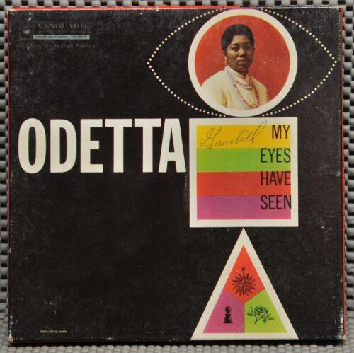 Pre Recorded Reel Odetta My Eyes have Seen Vanguard VTC-1627