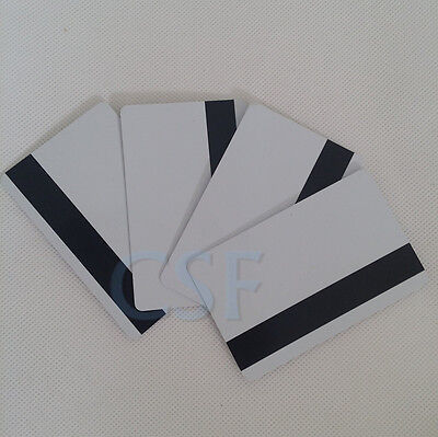 Inkjet Pvc Id Card With Magnetic Strip Hico 3 Track For Epson Canon - Lots Of 50