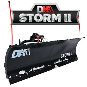 "DK2 84"" Snow Plow NEW STYLE Storm-II  / Snow Plow For sale / New"