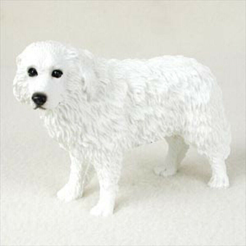 Great Pyrenees Figurine Hand Painted Statue