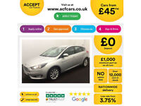 Ford Focus Titanium FROM £45 PER WEEK!